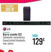 Oferta de Barra sonido SJ3 por 129€