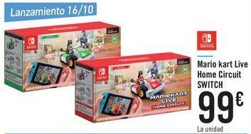Oferta de Mario Kart Live Home Circuit SWITCH por 99€