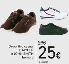 Oferta de Deportivo casual J'HAYBER o JOHN SMITH Hombre  por 25€