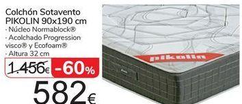 Oferta de Colchón Sotavento PIKOLIN 90x190 por 582€