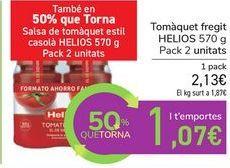Oferta de Tomate frito HELIOS por 2,13€