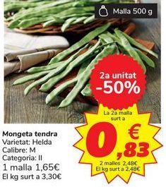 Oferta de Judía Verde por 3,3€