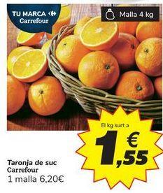 Oferta de Naranja de zumo por 6,2€
