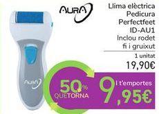 Oferta de Lima eléctrica Pedicura Perfectfeet ID-AU1 por 19,9€