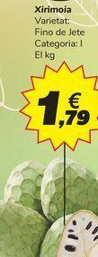 Oferta de Chirimoya por 1,79€