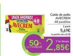 Oferta de Caldo de pollo AVECREM  por 5,69€