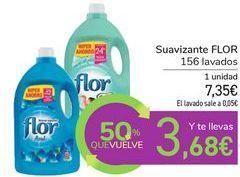Oferta de Suavizante FLOR por 7,35€