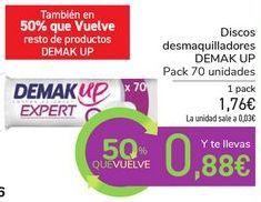 Oferta de Discos desmaquilladores DEMAK UP por 1,76€