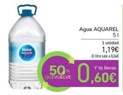 Oferta de Agua AQUAREL  por 1,19€