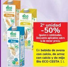 Oferta de En bebida de avena con calcio, de arroz con calcio de mijo Bio ECO CESTA por