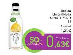 Oferta de Bebida Limón&Nada MINUTE MAID por 1,25€
