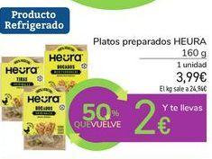 Oferta de Platos preparados HEURA por 3,99€