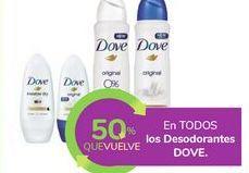 Oferta de En TODOS los Desodorantes DOVE por