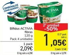 Oferta de Bífidus ACTIVIA  por 2,09€