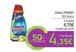 Oferta de Geles FINISH  por 8,7€