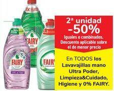 Oferta de En TODOS los lavavajillas mano Ultra Poder, Limpieza&Cuidado, Higiene y 0% FAIRY por