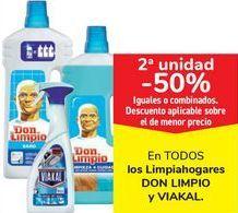 Oferta de En TODOS los limpiahogares DON LIMPIO y VIAKAL por