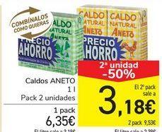 Oferta de Caldos ANETO por 6,35€