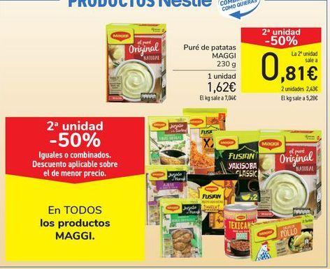 Oferta de En TODOS los productos MAGGI por