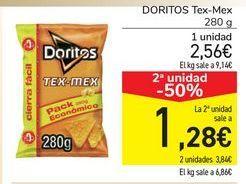 Oferta de DORITOS Tex Mex por 2,56€