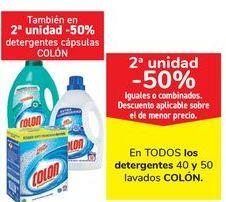 Oferta de En TODOS los detergentes y Lavados Colón por
