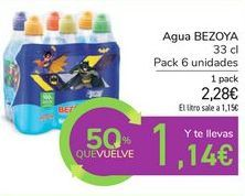 Oferta de Agua BEZOYA por 2,28€