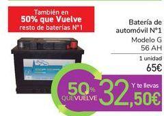 Oferta de Batería de automóvil Nº1  por 65€