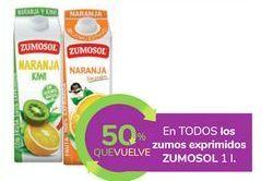 Oferta de En TODOS los zumos exprimidos ZUMOSOL por