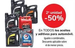 Oferta de En TODOS los aceites y aditivos para automóvil  por
