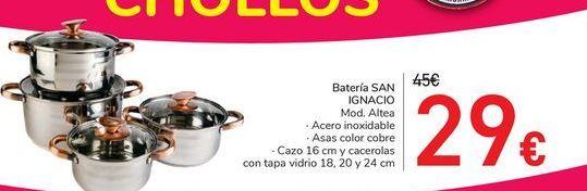 Oferta de Batería SAN IGNACIO  por 29€