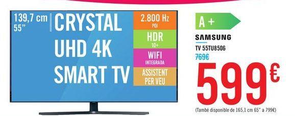 Oferta de TV 55TU8506 SAMSUNG por 599€