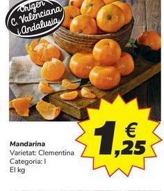 Oferta de Mandarina por 1,25€