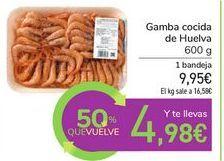 Oferta de Gamba cocida de Huelva por 9,95€