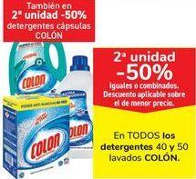 Oferta de En TODOS los detergentes lavados COLÓN  por