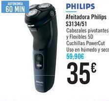 Oferta de Afeitadora Philips S3134/51  por 35€