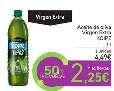 Oferta de Aceite de oliva Virgen Extra KOIPE por 4,49€
