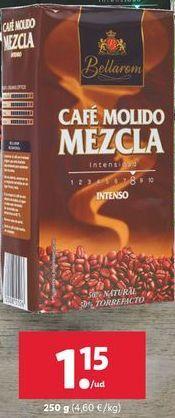 Oferta de Café molido mezcla intenso Bellarom por 1,15€