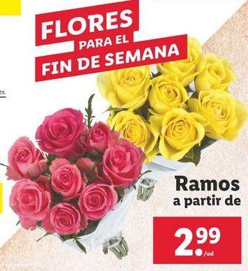 Oferta de Flores para el fin de semana por 2,99€