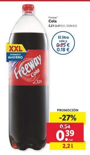 Oferta de Cola Freeway por 0,39€
