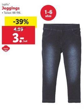 Oferta de Jeggins Lupilu por 3€