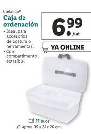 Oferta de Caja de ordenación crelando por 6,99€