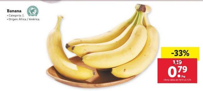 Oferta de Banana por 0,79€