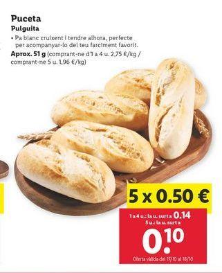 Oferta de Pulguita por 0,14€