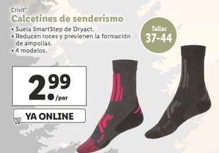 Oferta de Calcetines de senderismo Crivit por 2,99€