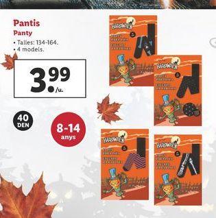 Oferta de Panty por 3,99€