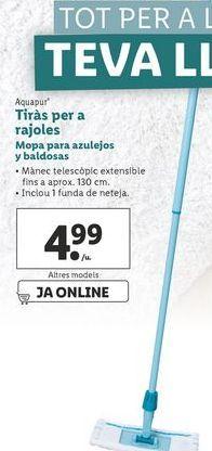 Oferta de Mopa para azulejos Y baldosas aquapur por 4,99€