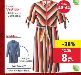 Oferta de Vestido esmara por 8€