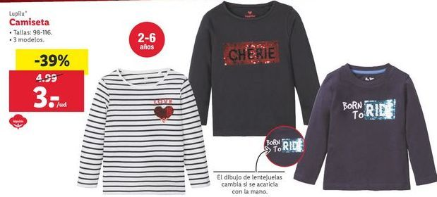 Oferta de Camiseta Lupilu por 3€