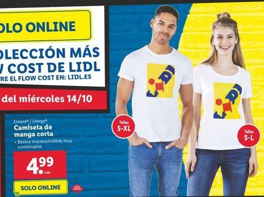 Oferta de Camiseta de manga corta por 4,99€