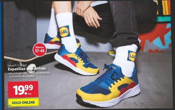 Oferta de Zapatillas deportivas por 19,99€